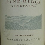 Pine Ridge Vineyards Napa Cabernet Sauvignon