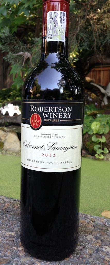 Robertson Winery Cabernet Sauvignon 2012 Robertson Winery Cabernet