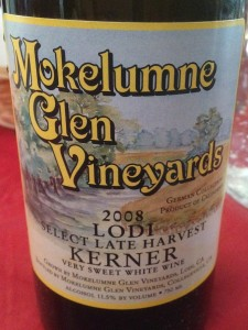 Mokelumne Glen Vineyards 2008 Kerner