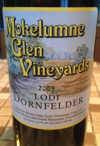 Mokelumne Glen Vineyards 2009 Dornfelder