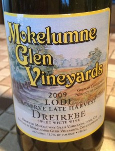 Mokelumne Glen Vineyards 2009 Dreirebe