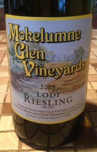 Mokelumne Glen Vineyards 2009 Riesling