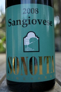 2008 Sonoita Vineyards Sangiovese