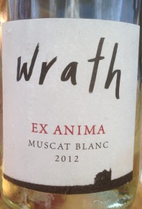 2012 Wrath Ex Anima Muscat Blanc