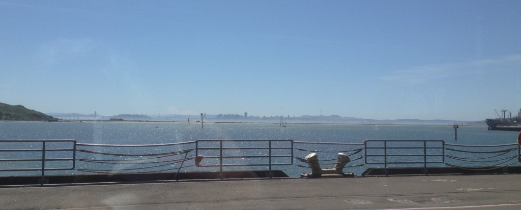 View of SF from Craneway