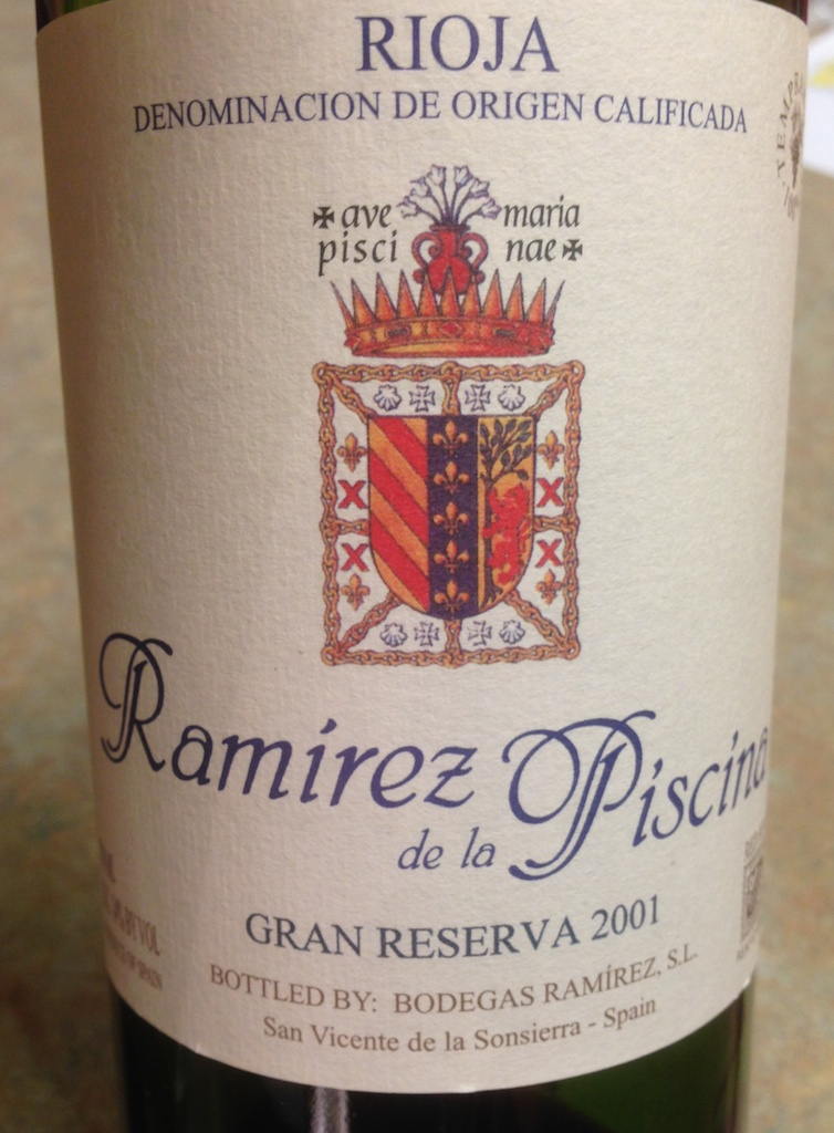 Rioja tempranillo is the star in this spanish wine region - Ramirez de la piscina ...