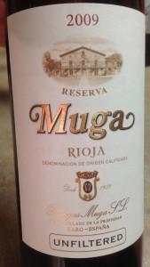 2009 Muga Reserva