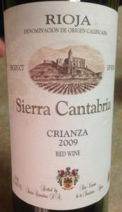2009 Sierra Cantabria Crianza