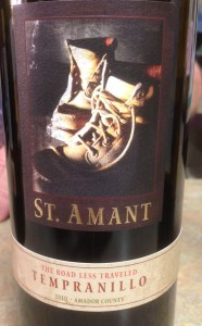 2010 St. Amant Winery Tempranillo