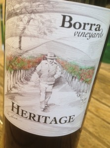 Borra Vineyard 2011 Heritage