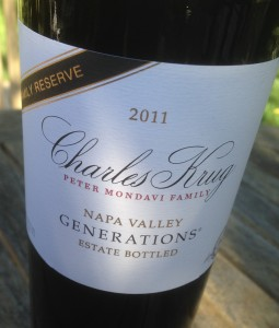 2011 Charles Krug Family Reserve Generations