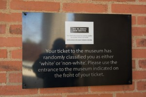 Apartheid Museum ticket
