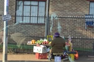 Fruit vendor in Soweto