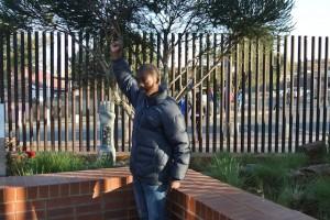 Touring Mandela House