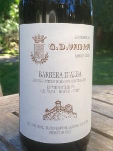 2011 G.D. Vajra Barbera d'Alba