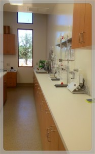 New laboratory at Oak Farm Vineyards