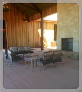 Fireplace Oak Farm Vineyards