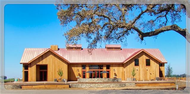 Oak Farm Vineyards winery and tasting room