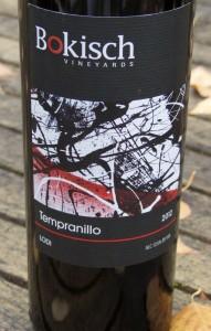 2012 Bokisch Vineyards Tempranillo