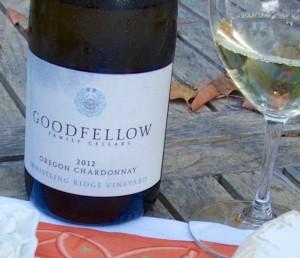 2012 Goodfellow Family Cellars Whistling Ridge Vineyard Chardonnay