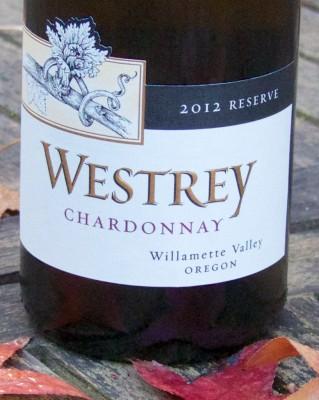 2012 Westrey Reserve WV Chardonnay