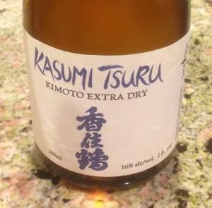 Kasumi Tsuru Kimoto Extra Dry