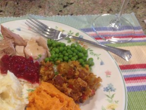 Thanksgiving and Westrey Chardonnay