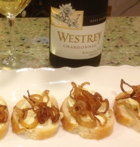 Westrey Chardonnay and cheese