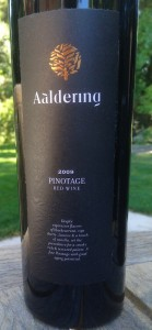 2009 Aaldering Pinotage