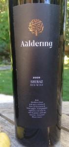 2009 Aaldering Shiraz