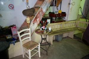 Tasting area at Badenhorst Wines