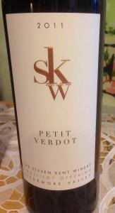 2011 The Steven Kent Petit Verdot