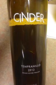 2012 Cinder Tempranillo