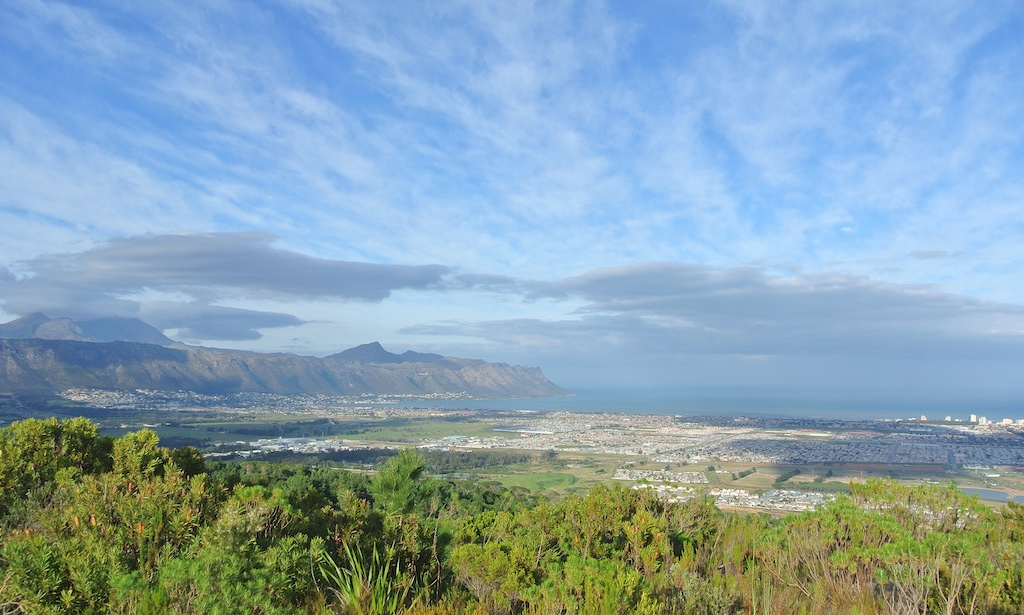 View of False Bay
