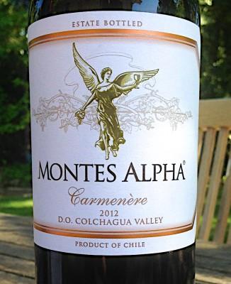 Montes Alpha 2012 Carmenere