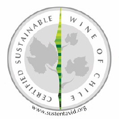 Certified Sustainable Wine of Chili seal