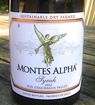 Montes Alpha 2012 Syrah