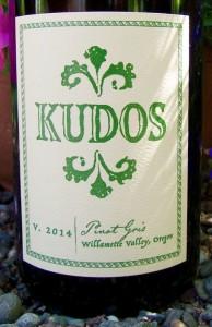 2012 Kudos WV Pinot Gris