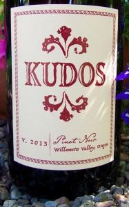 2013 Kudos WV Pinot Noir