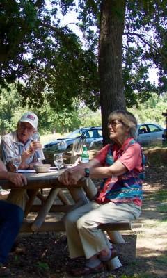 Bob and Mary Lou talk wine