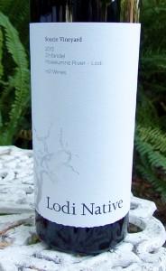 2013 Lodi Native Soucie Vineyard Zinfandel m2 Wines