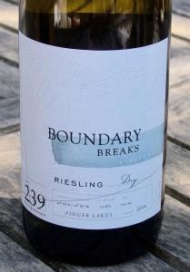 Boundary Breaks Vineyard Riesling