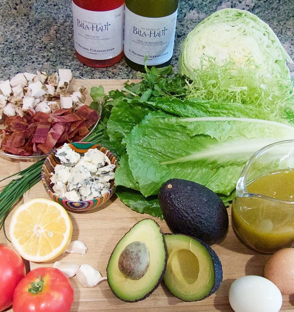 Cobb Salad fixins