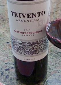 2013 Trivento Reserve Cabernet Sauvignon